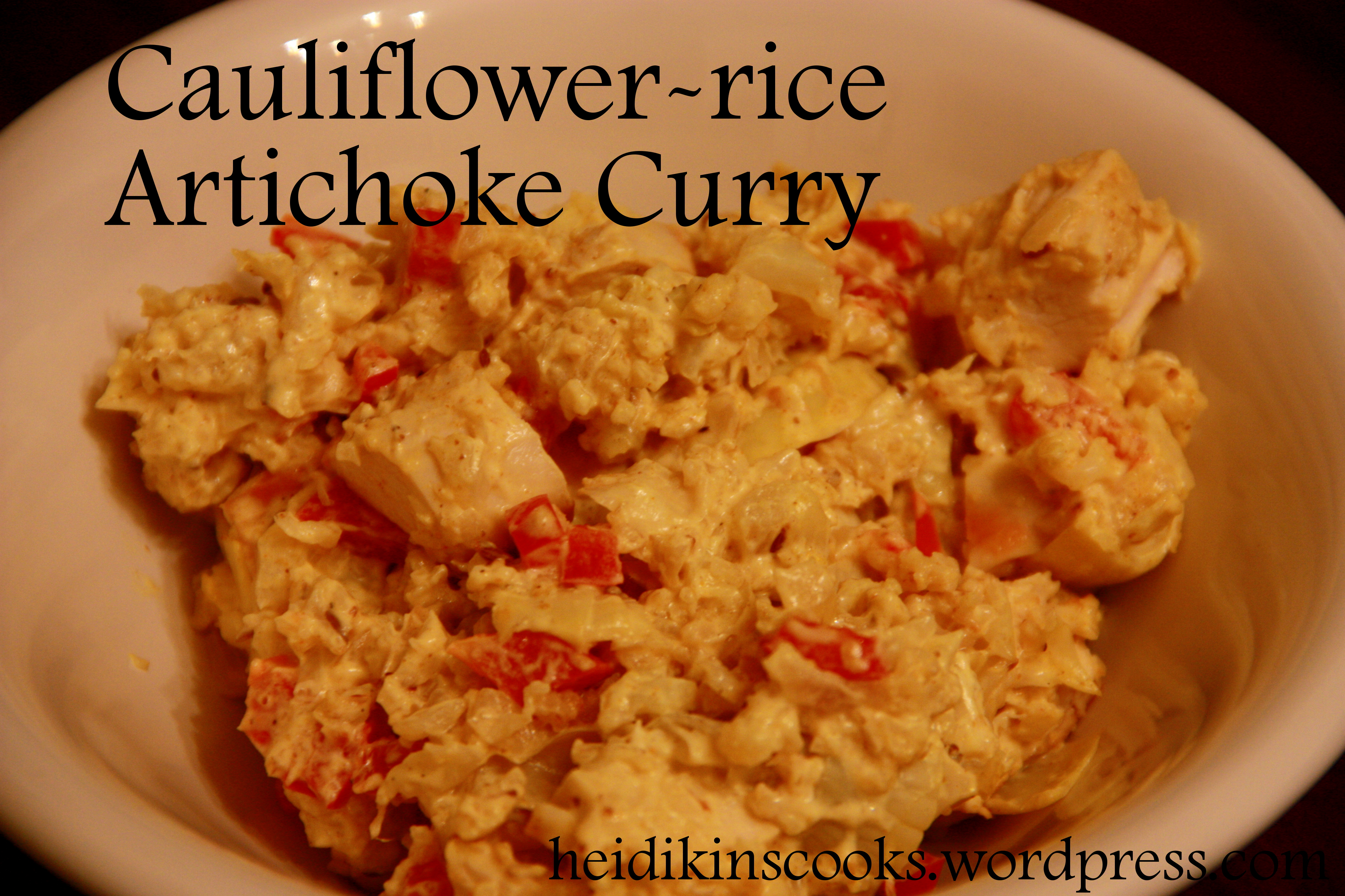 how to prepare cauliflower curry for rice