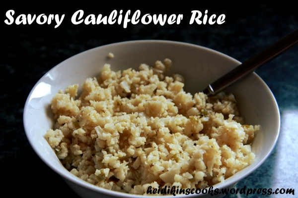 Savory Cauliflower Rice_heidikinscooks_March 2013