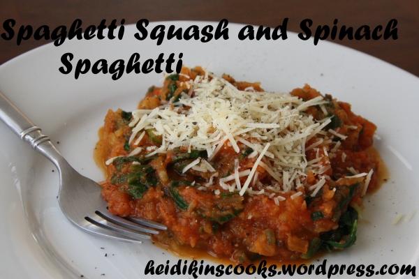 Spaghetti Squash Spaghetti_heidikinscooks_May 2013