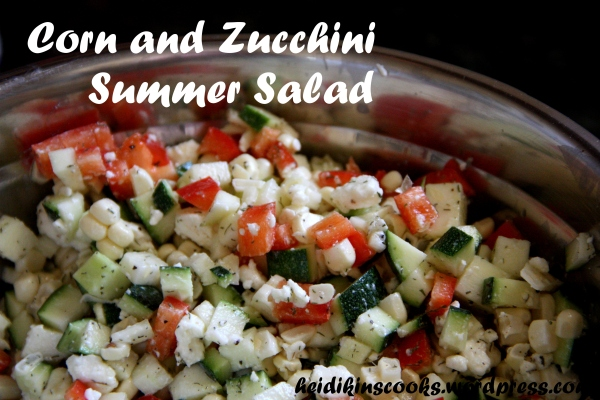 Corn and Zucchini Summer Salad_heidikinscooks_July 2013