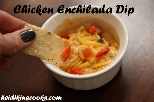 Chicken Enchilada Dip_heidikinscooks_Nov 2013