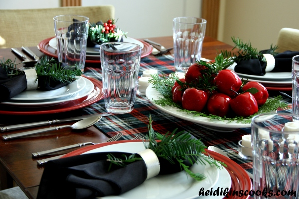 Tablescape_Christmas Plaid 10_heidikinscooks_Dec 2013