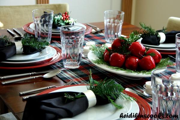 Tablescape_Christmas Plaid 10_heidikinscooks_Dec 2013