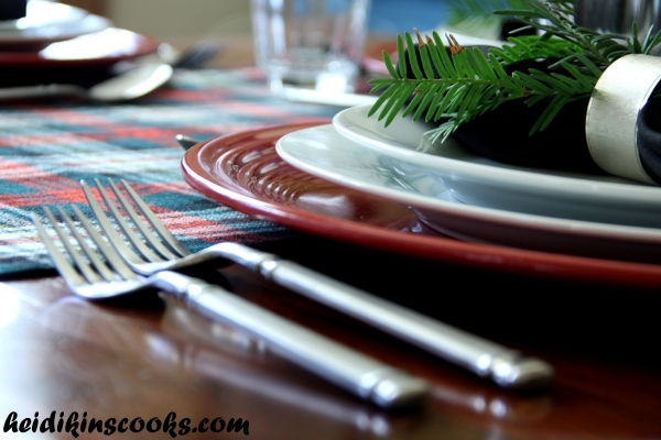 Tablescape_Christmas Plaid 2_heidikinscooks_Dec 2013
