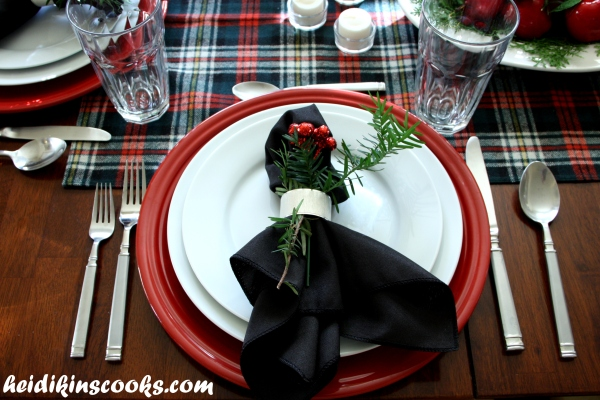 Tablescape_Christmas Plaid 5_heidikinscooks_Dec 2013