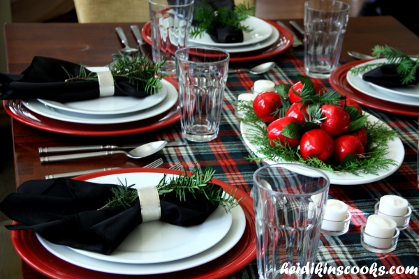 Tablescape_Christmas Plaid 9_heidikinscooks_Dec 2013