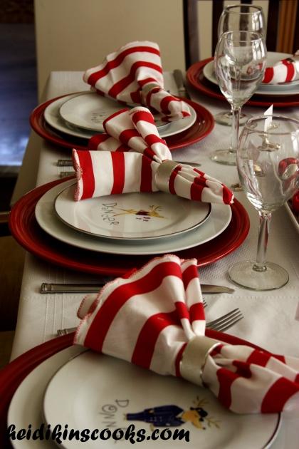 Tablescape_Christmas Pottery Barn Reindeer Plates 14_heidikinscooks_Dec 2013