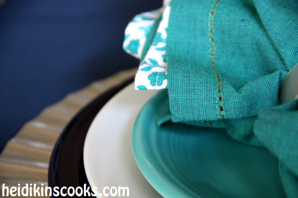 Everyday Table Setting_Cobalt Turquoise Fiestaware 1_heidikinscooks_Jan 2014