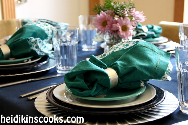 Everyday Table Setting_Cobalt Turquoise Fiestaware 3_heidikinscooks_Jan 2014