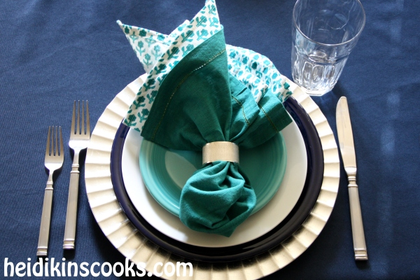 Everyday Table Setting_Cobalt Turquoise Fiestaware 5_heidikinscooks_Jan 2014