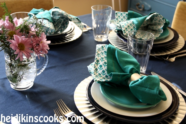 Everyday Table Setting_Cobalt Turquoise Fiestaware 6_heidikinscooks_Jan 2014