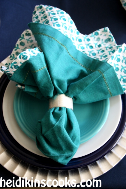 Everyday Table Setting_Cobalt Turquoise Fiestaware 7_heidikinscooks_Jan 2014
