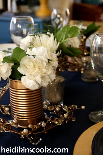 Tablescape Navy Gold_Antlers Plates9_heidikinscooks_Jan 2014