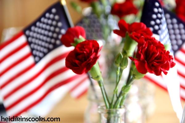 4th July Patriotic Pfaltzgraff Tablescape 10_heidikinscooks_June 2014