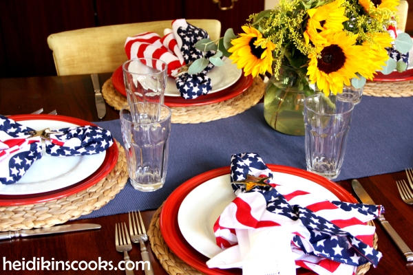 4th July Patriotic Tablescape 12_heidikinscooks_June 2014