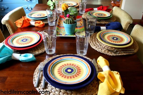 Mexicali Pier 1 Fiesta Fiestaware Tablescape 4_heidikinscooks_June2014