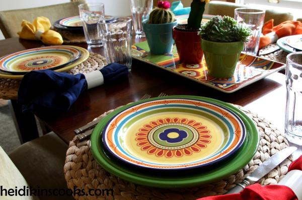 Mexicali Pier 1 Fiesta Fiestaware Tablescape 8_heidikinscooks_June 2014