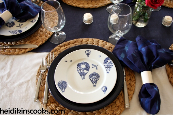 Summer Tablescape IKEA hot air balloons 2_heidikinscooks_June 2014