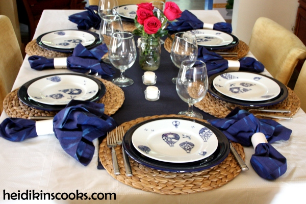 Summer Tablescape IKEA hot air balloons 5_heidikinscooks_June 2014