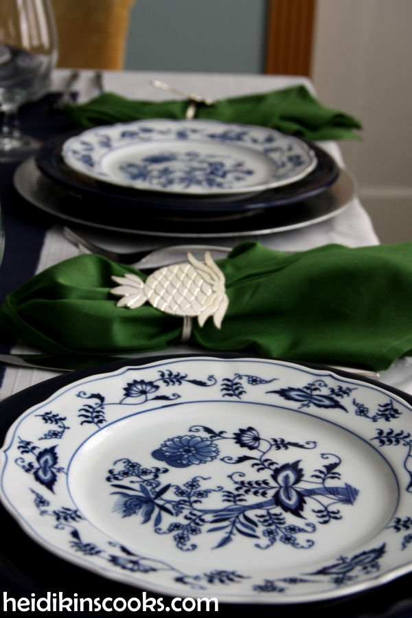 heidikinscooks_Blue Danube Fiesta table setting tablescape_january 2015 (5)