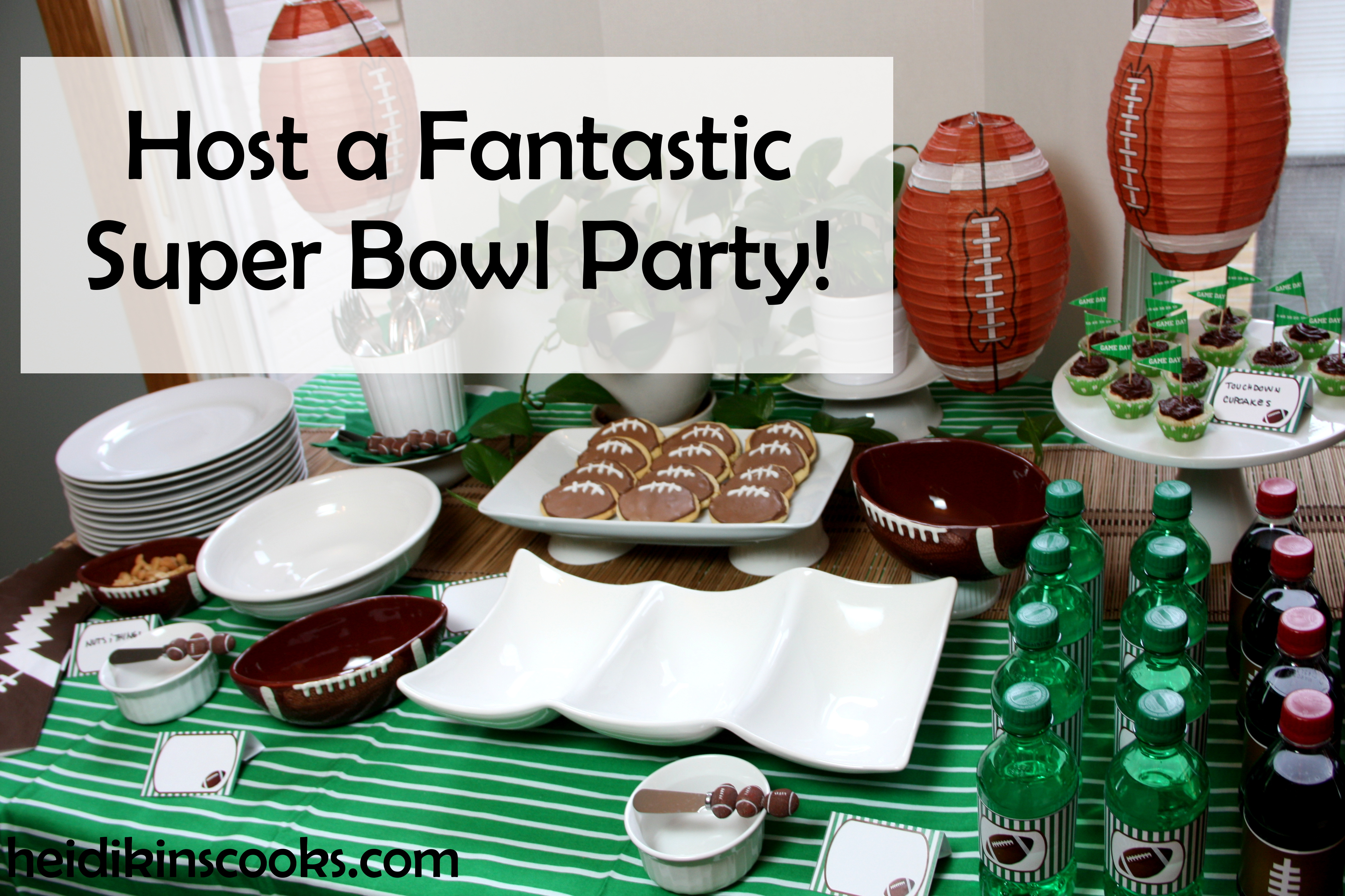 How to Host a Super Bowl Party on a Budget