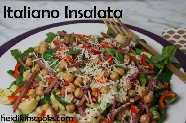 Italiano Insalata Italiano Salad_heidikinscooks_Feb2015